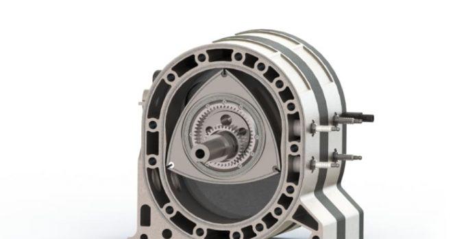 Come funziona un motore rotativo