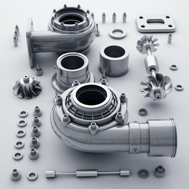 Turbosprężarka — budowa