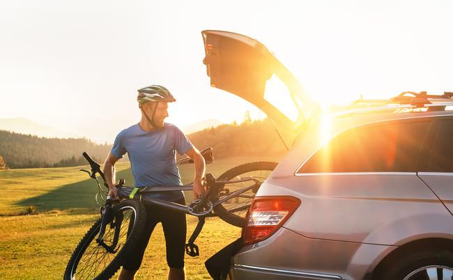 Fahrrad im Auto transportieren