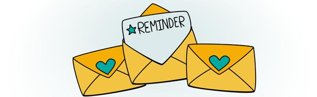 reminder message