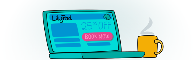booking page discount