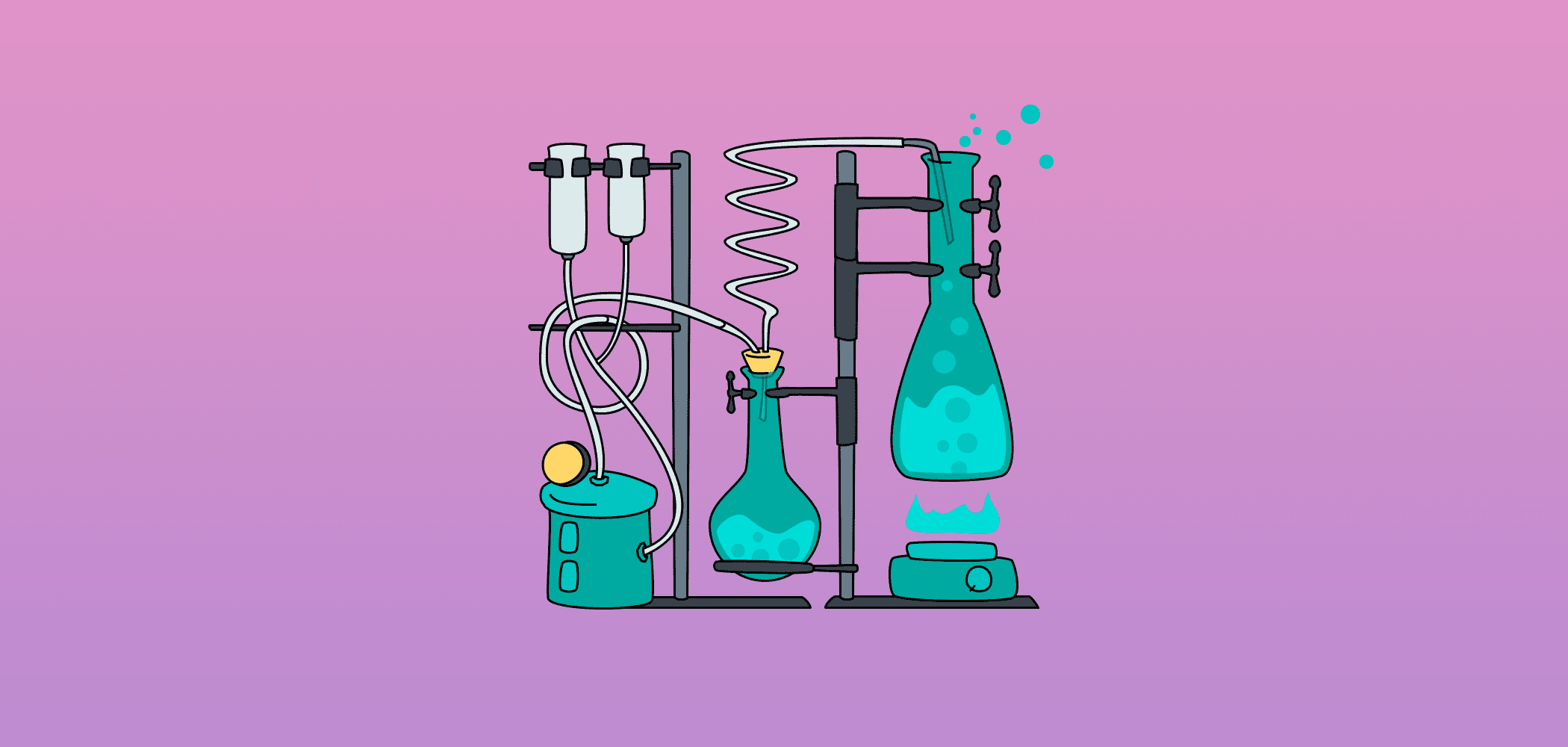 Representative image of chemistry beakers