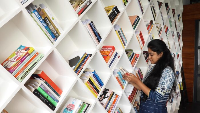 library in FULL Creative Chennai office