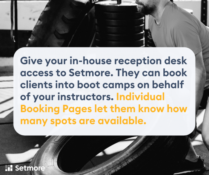 booking pages