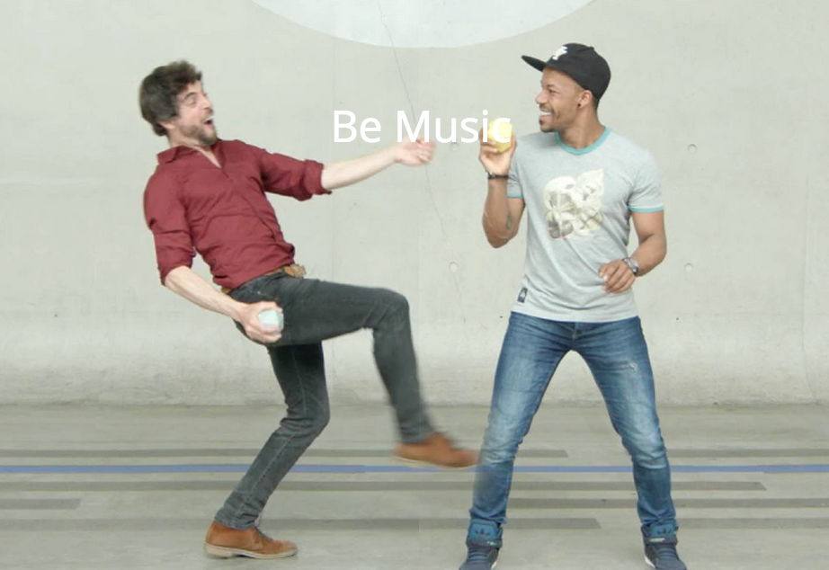 Don't make the music. Be Music !
