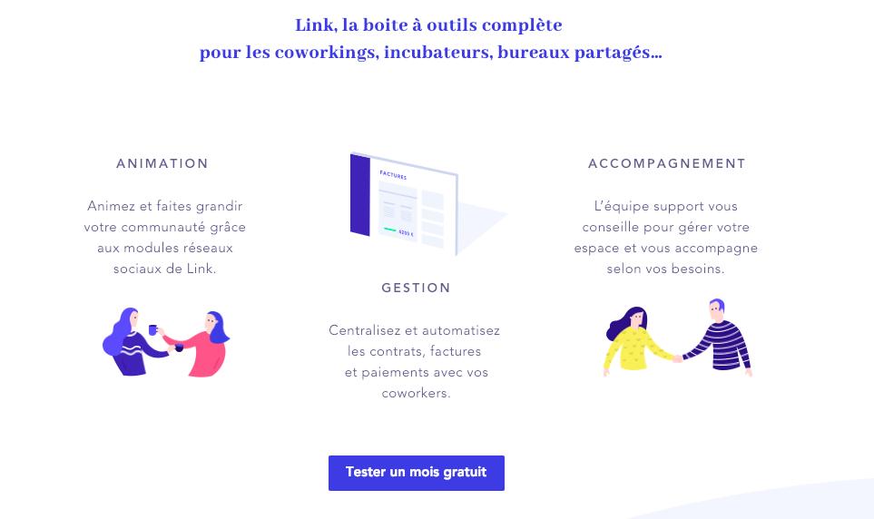 LiNK : gérez votre espace dans un seul logiciel