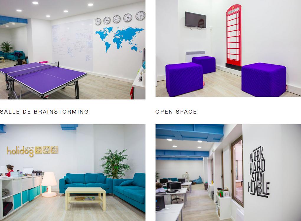 Aménagement de bureaux open space smaltdesign