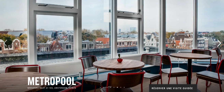 WeWork coworking Amsterdam