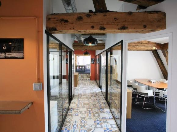 l'espace de coworking Mozaik