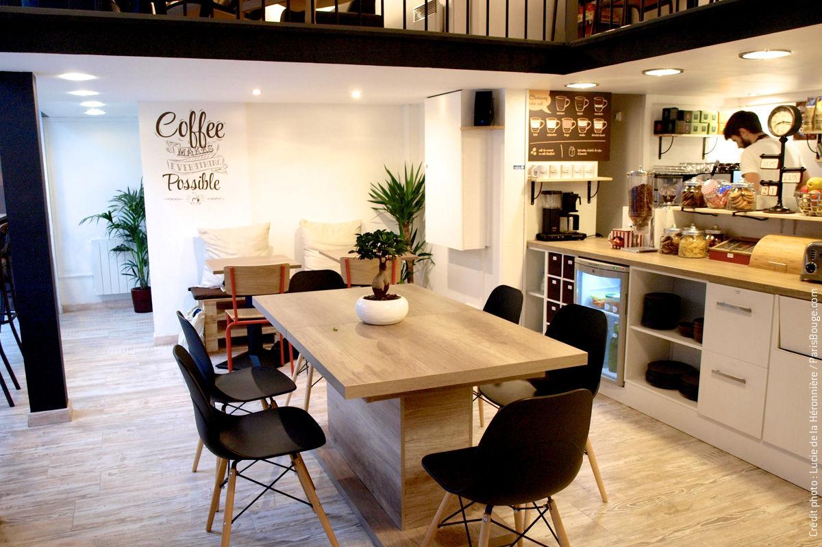 les caf s coworking o il fait bon travailler bureaux partager le blog. Black Bedroom Furniture Sets. Home Design Ideas