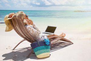 coworking en vacances