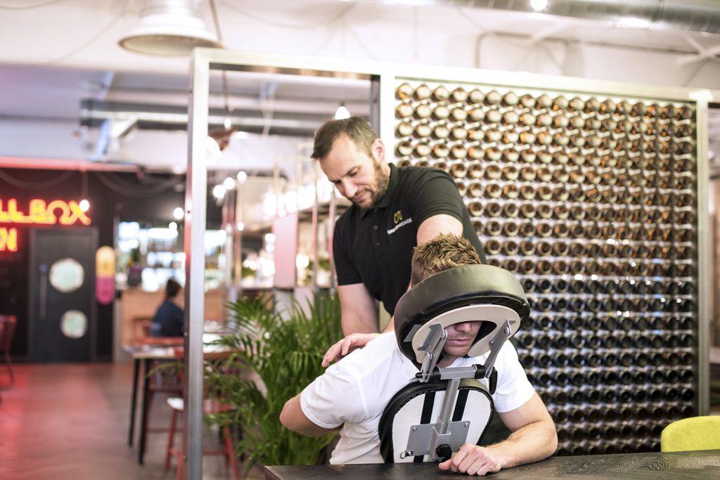 Urban Massage - des soins bien-être au travail