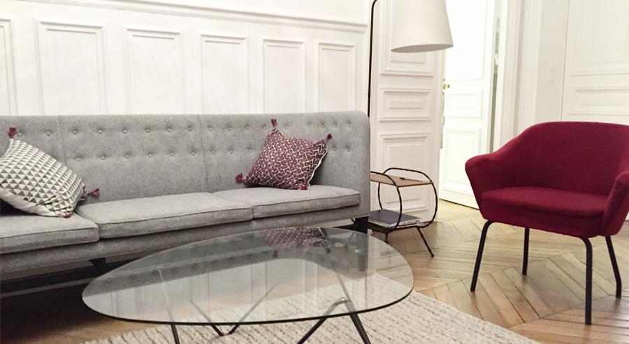 Les bureaux de Paris Calling - Agence conseil en stratégie et image de marque - décorés par Selency