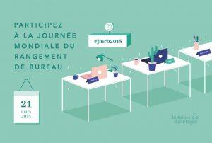 Illustration : 21 mars : Journée Mondiale du Rangement de Bureaux
