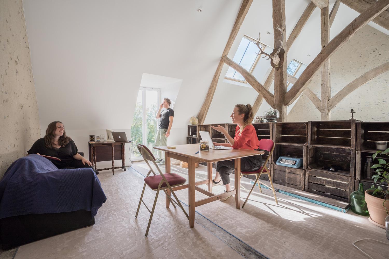 Le coliving : l'espace de travail de Mutinerie Village