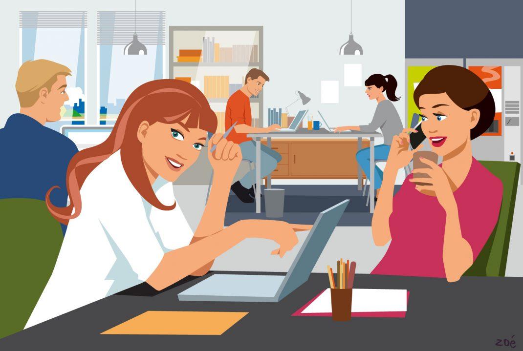 5 raisons de travailler en coworking pour des indépendants