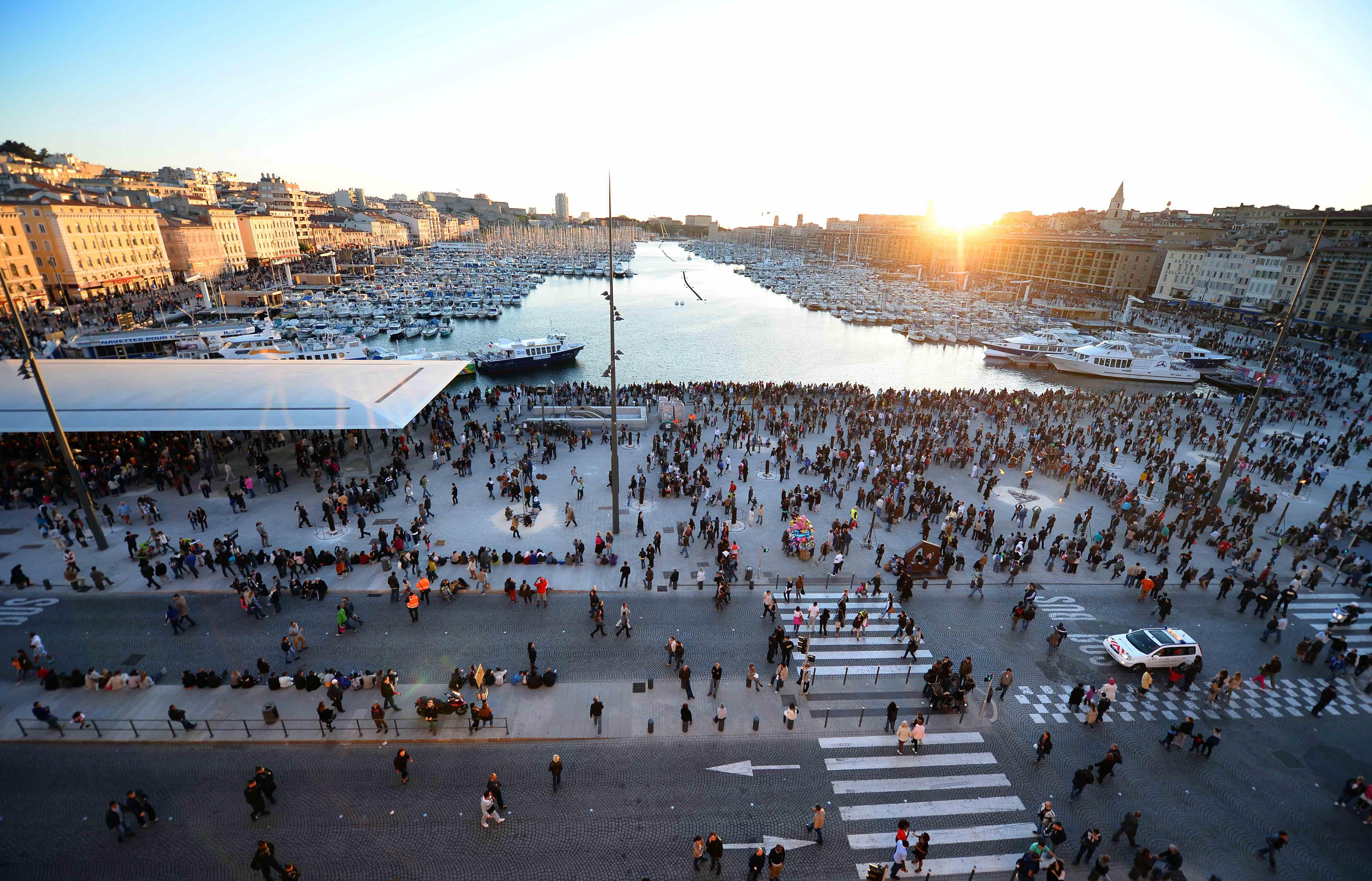 Vieux Port - quartier à Marseille