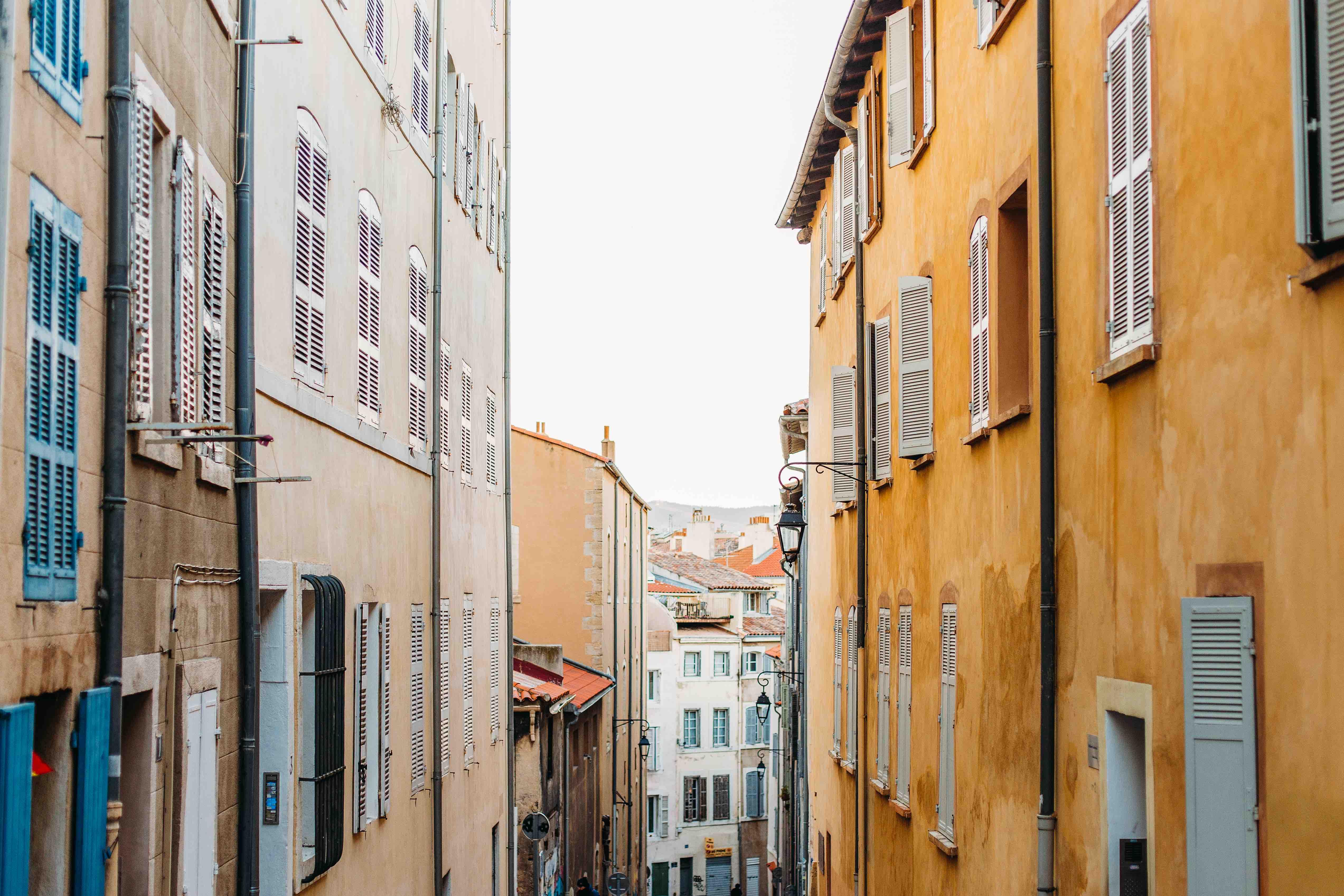 Marseille vue ville - Marseille, capitale de l'innovation et du coworking