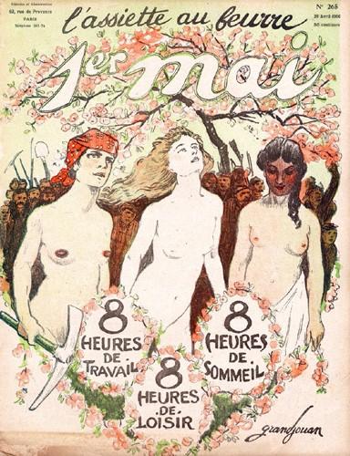 La couverture de L'assiette au Beurre par Grandjouan—1906
