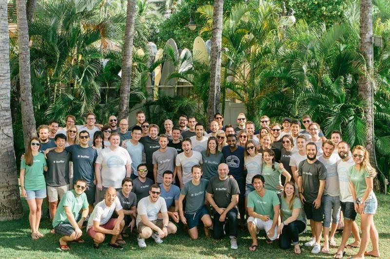 Buffer Team retreat
