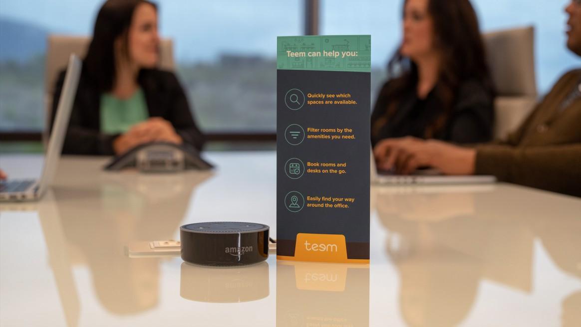 Alexa for Business - futur des espaces de travail