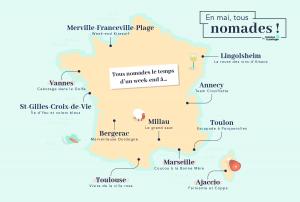 Illustration : Tous digital nomads : 4 destinations pour débutants... et confirmés !