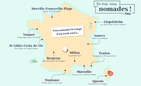 Tous digital nomads : 4 destinations pour débutants... et confirmés !