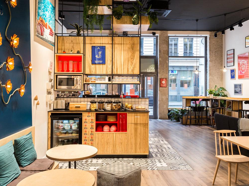 Espace coworking - L'Anticafé