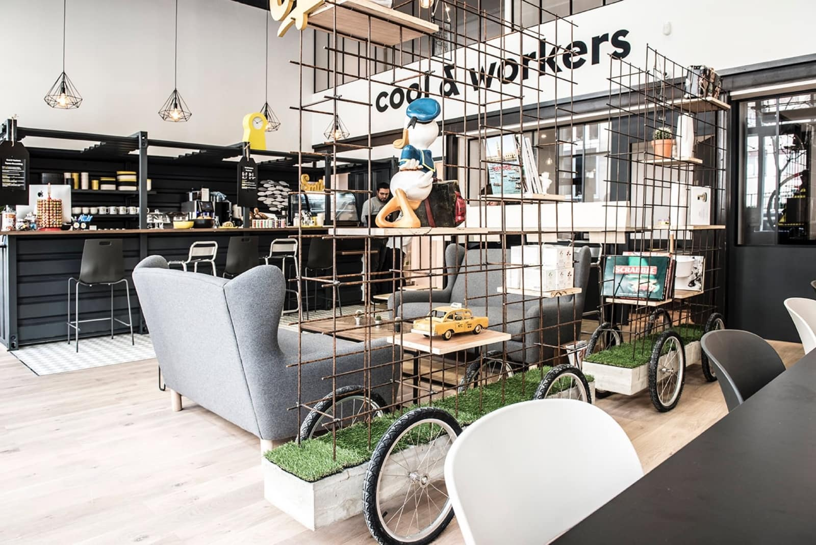 Cool & Workers - Café Coworking