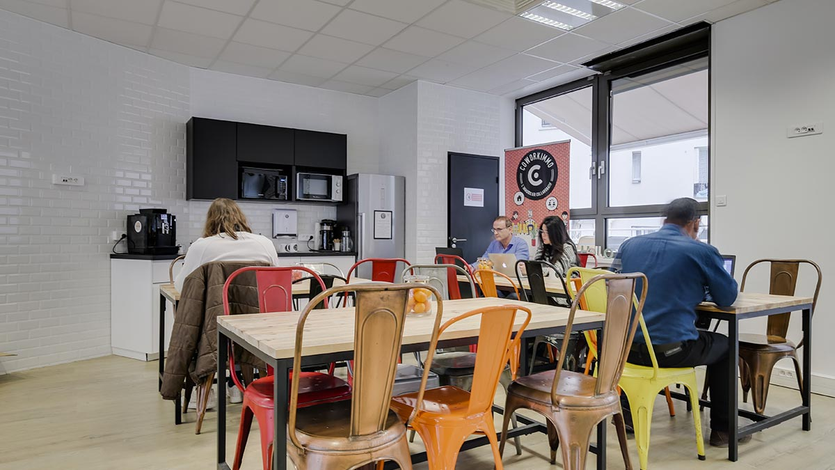 Coworkimmo - Café Coworking