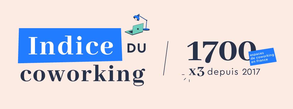 1700 espaces de coworking en France en 2019
