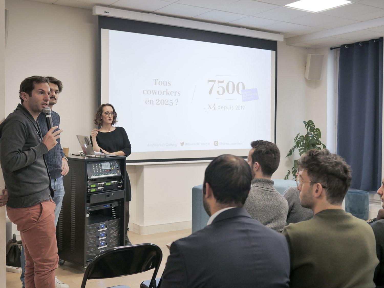 Combien d'espaces de coworking en France en 2025 ?