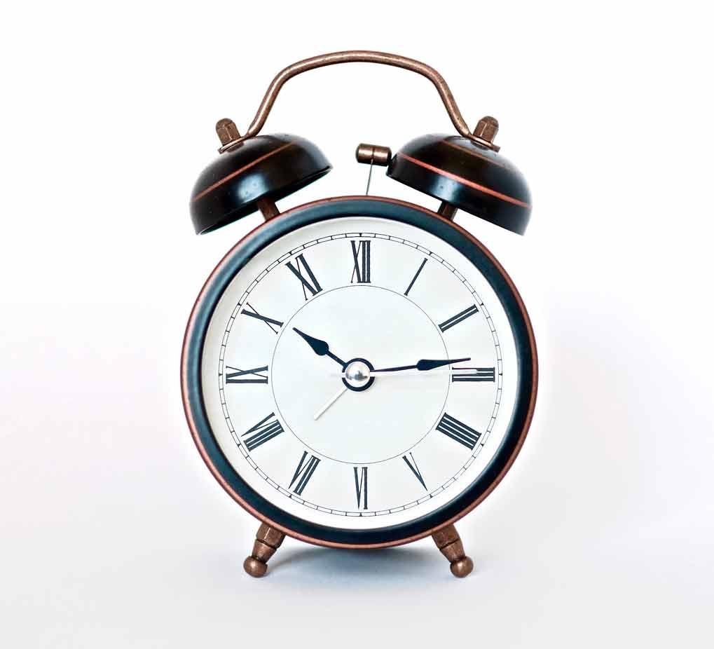 horloge ordre du jour de reunion