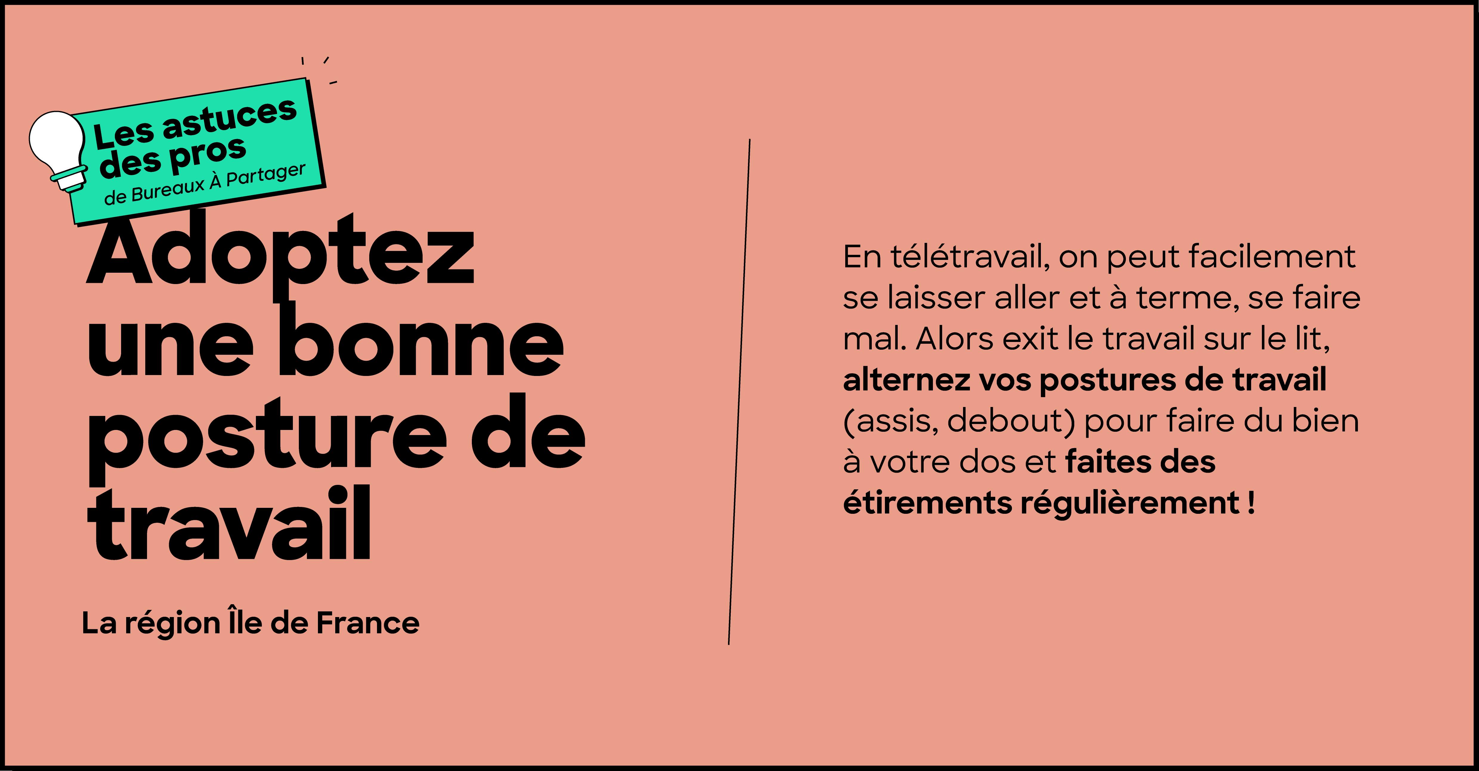 les astuces des pros du télétravail de la région île de France