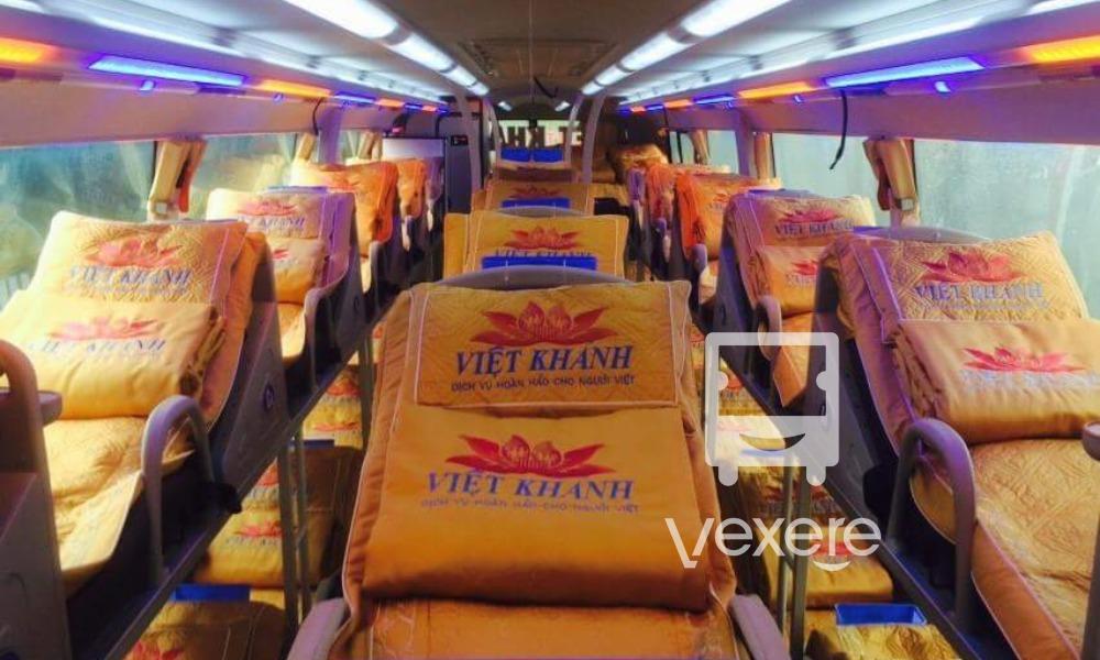 Xe Việt Khánh đi Vinh từ Hà Nội