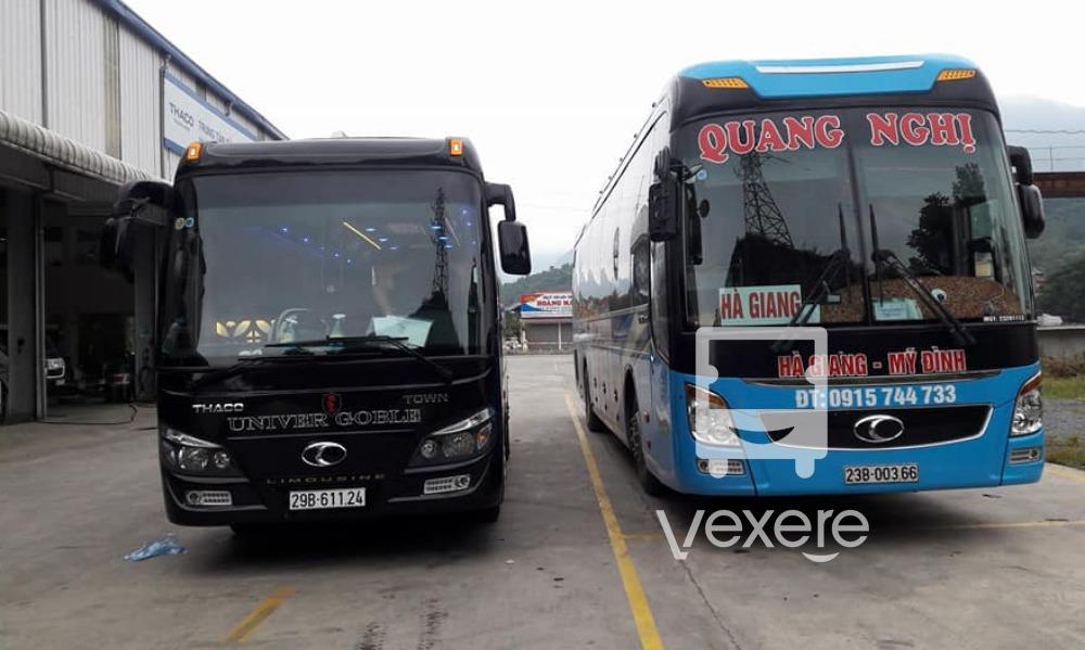 Xe đi Hà Giang: Quang Nghị