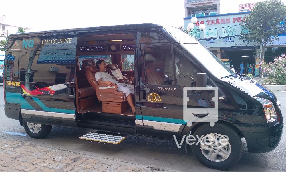 Xe limousine đi Vũng Tàu: Huy Hoàng