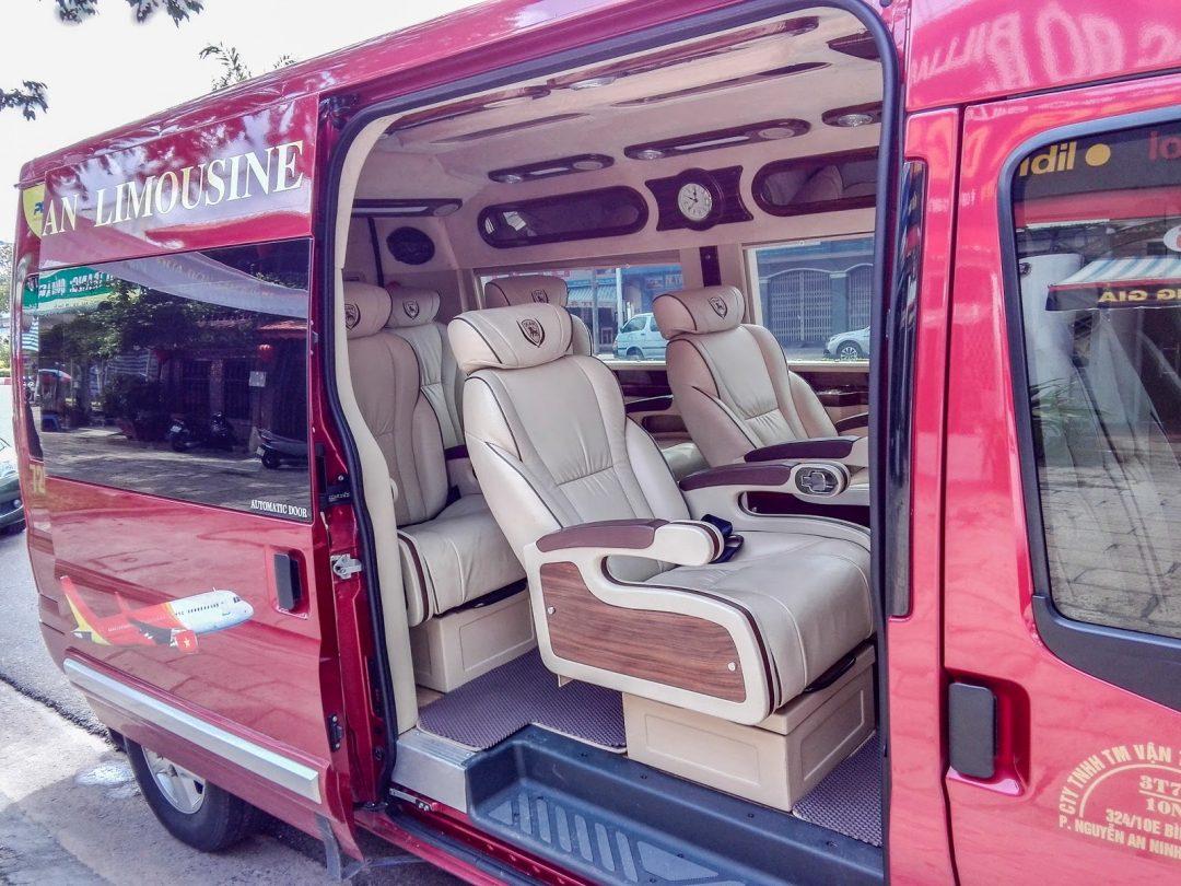 Xe limousine đi Vũng Tàu: Phát Lộc An
