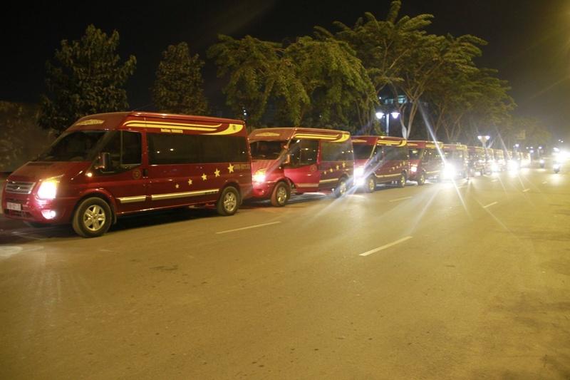 Xe limousine Hoa Dũng đi Thanh Hóa