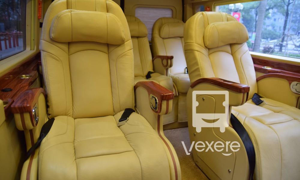 Xe limousine Phương Nguyên đi Nghệ An