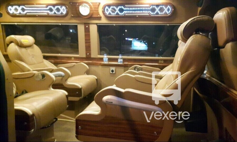 Xe limousine Xuân Tráng đi Mộc Châu