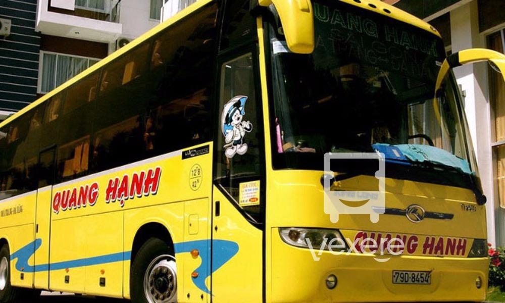 Xe giường nằm đi Cam Ranh từ Đà Nẵng: Quang Hạnh