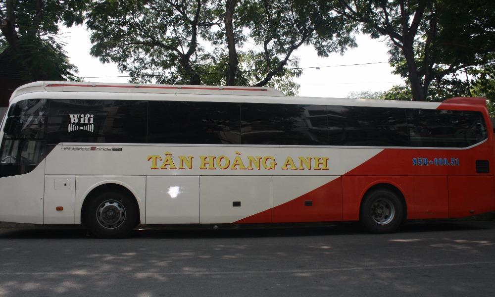 Xe đi Phan Rang từ Sài Gòn: Tân Hoàng Anh