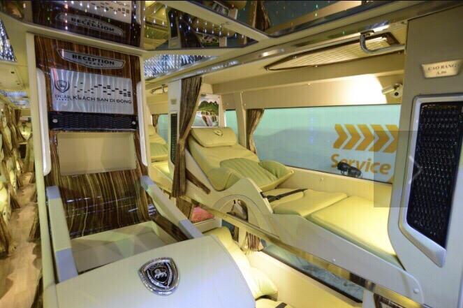 Xe limousine đi Cam Ranh từ Sài Gòn: Hòa Thuận Anh