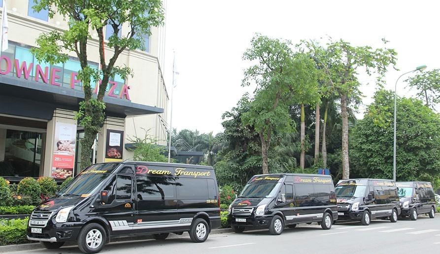 Xe limousine Sapa đi Hà Nội: Dream Transport