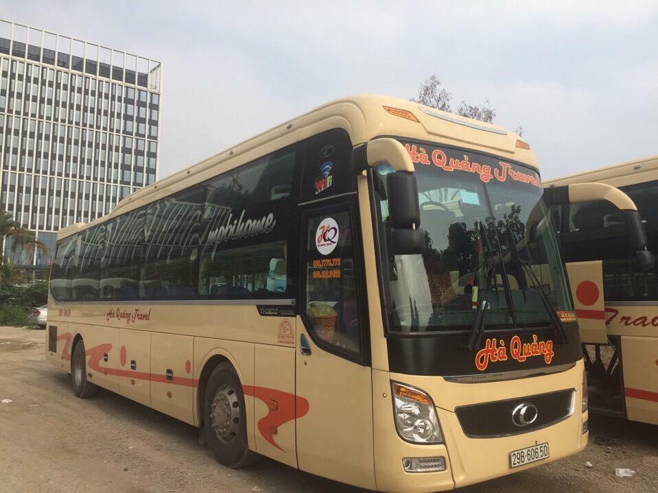 Xe giường nằm đi Hà Tĩnh từ Hà Nội: Hà Quảng Travel