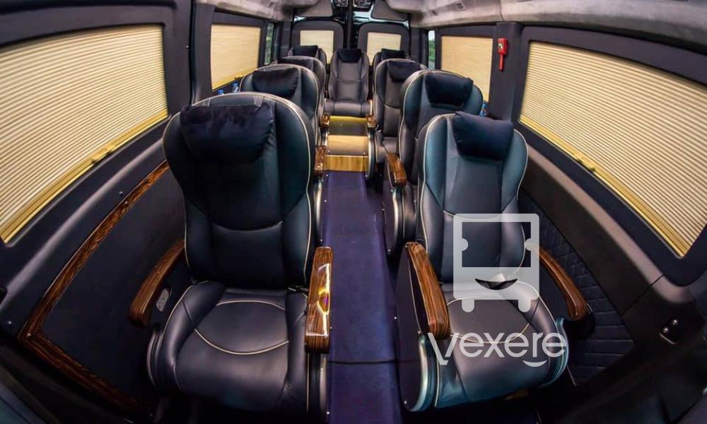 Xe Đan Anh đi Mũi Né: Xe Skybus cao cấp thời thượng