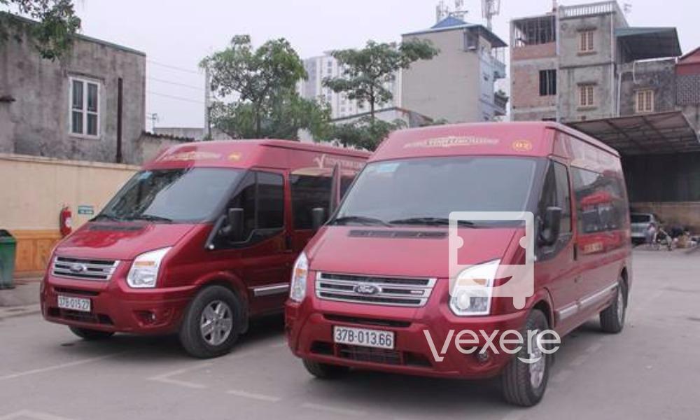 Limousine to Vinh: Hong Vinh Limousine