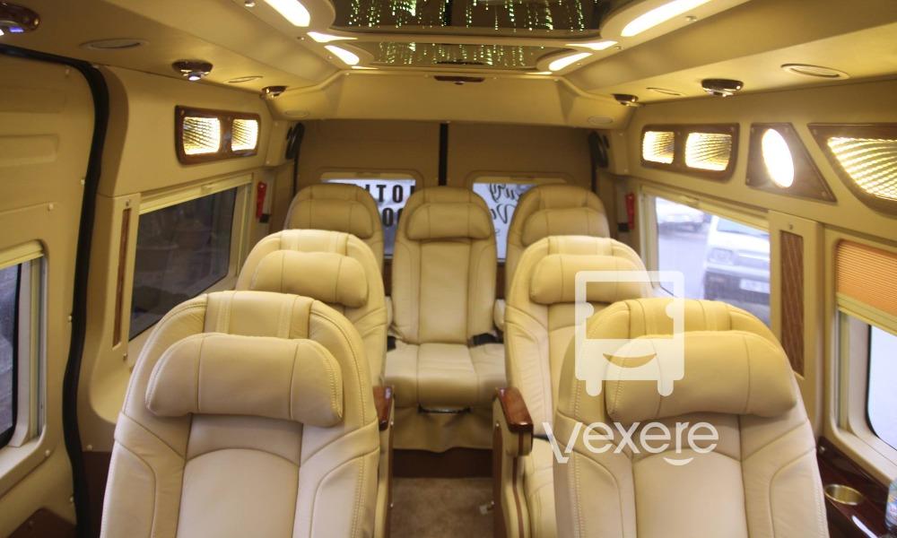 Xe đi SaPa từ Hà Nội: Xe Luxury Van