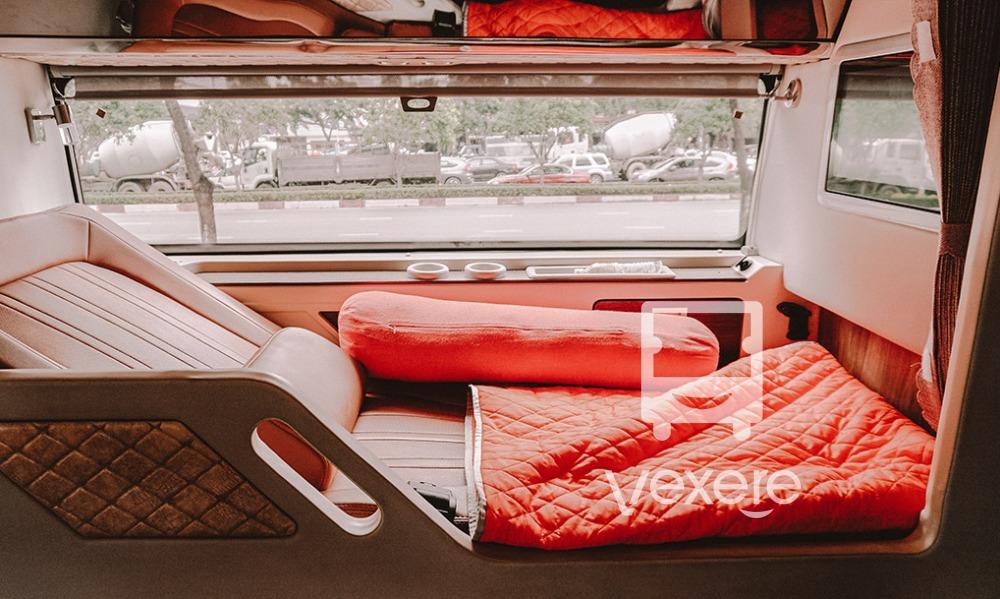 Xe giường nằm cao cấp limousine - xe Thanh Thủy từ Đà Nẵng đi Đà Lạt